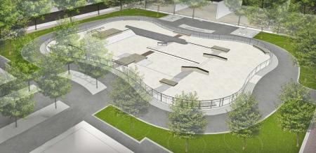 Ozone park skate park 1